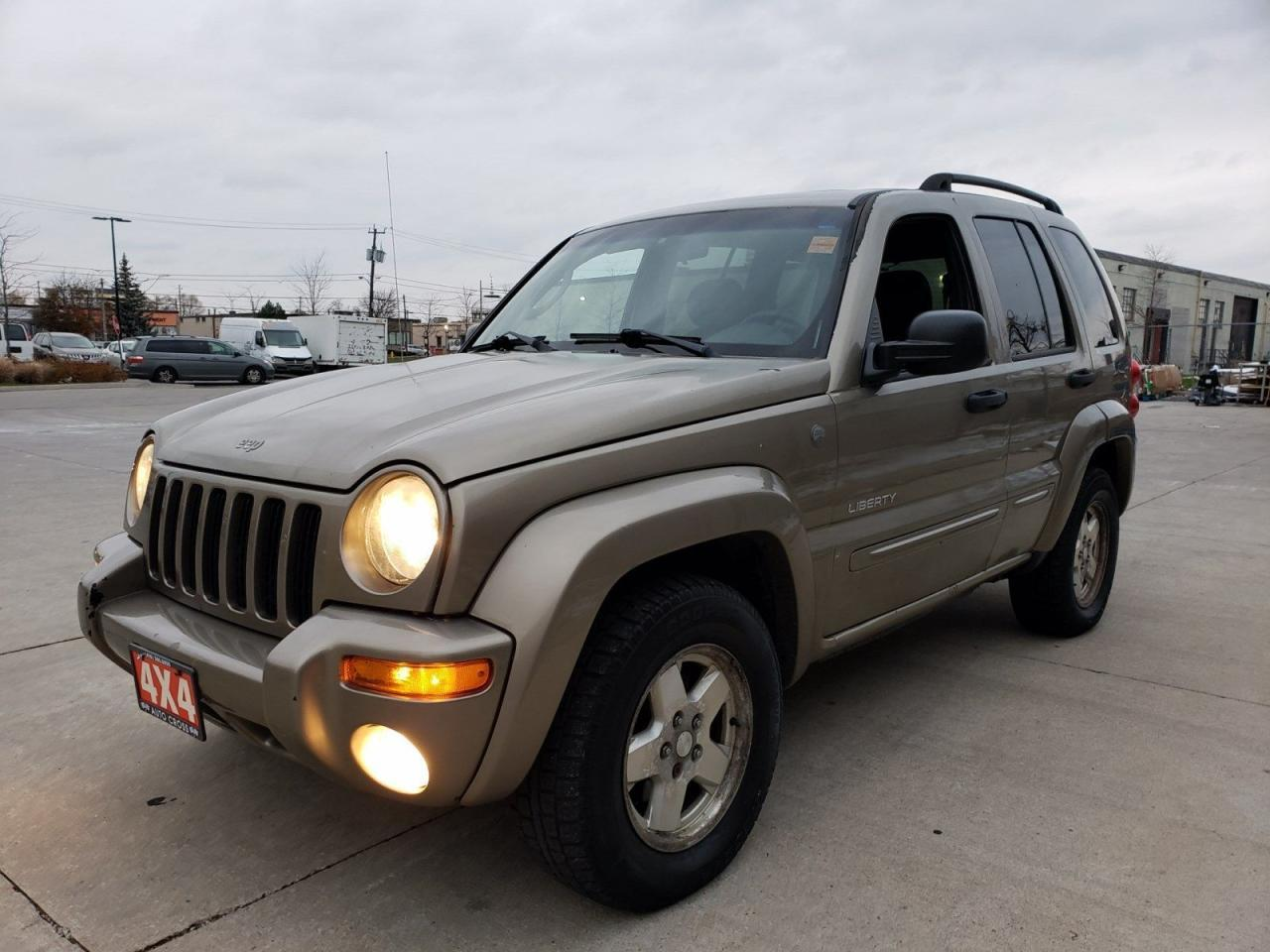 First generation Jeep Liberty