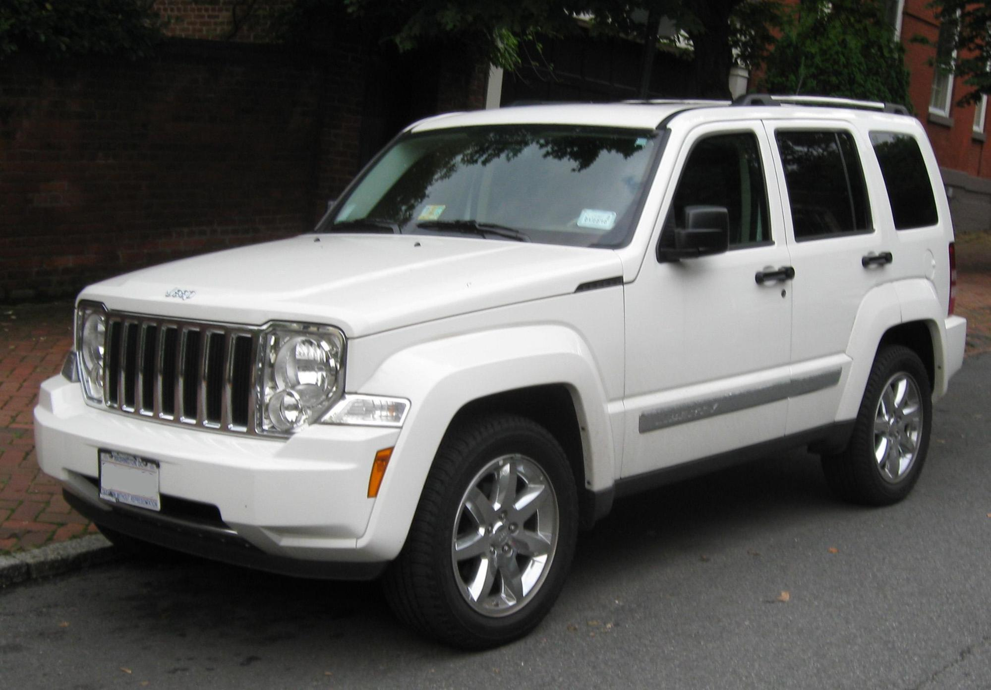 Second generation Jeep Liberty