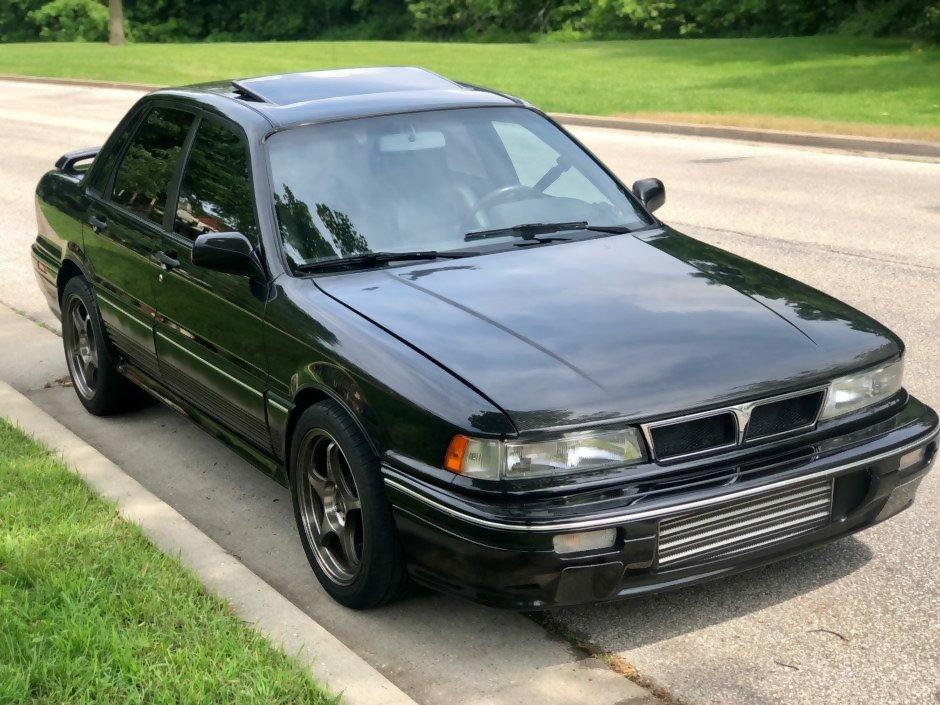 Mitsubishi Galant E30, Fifth generation 1987-1994
